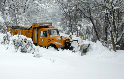 snowplow out front? telecommute to work!